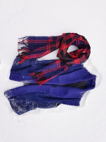 Villainen tweed-liivi 90-luvulta, S-M