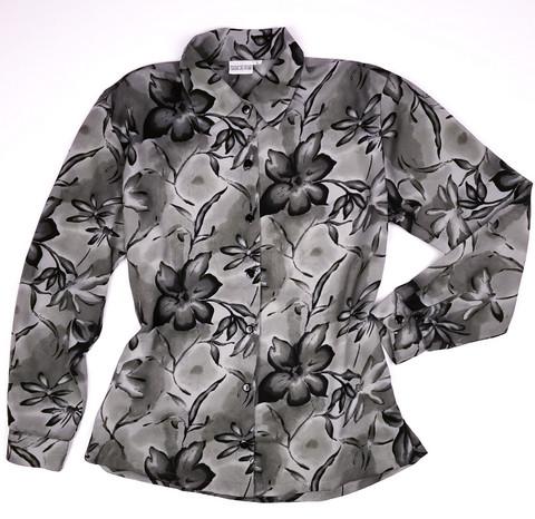 90-luvun harmaa viidakko mesh-pusero, L