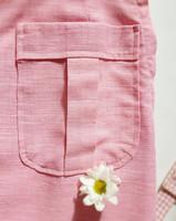 60-luvun vaaleanpunainen minihame, 38-40