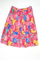 90-luvun ananas-kuvioinen paita ja hame, 44-50