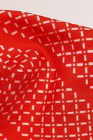 60-70-luvun pitkä punainen huivi