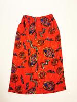 80-90-luvun inkakuvioinen juhlapuku, S