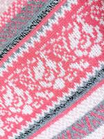90-luvun flamingonpunainen neule, S-XL