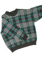 70-80-luvun kotimainen neulepusero, miesten M