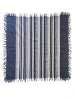 Vintage violettiraitainen villahuivi