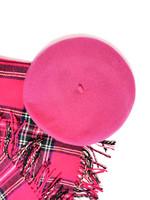 Pinkki villabaskeri