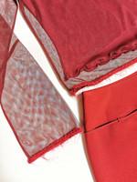 90-luvun punainen minihame, XS-S