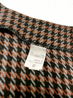 Kotimainen houndstooth villableiseri 80-90-luvulta, M-L