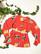 80-90-luvun rusettipusero puhvihihoilla, M