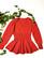 Vintage käsinneulottu naisellinen villapusero, S-M