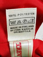 Kotimainen 60-70-luvun punainen hame, 40/M
