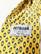 Kotimainen vaaleankeltainen silkkikravatti 90-luvulta