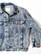 90-luvun miesten happopesty Frisco farkkutakki, M-L