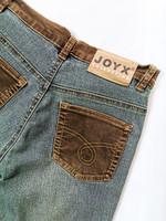 90-luvun bootcut farkku-vakosamettihousut, 38