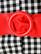 60-70-luvun punainen tekonahkavyö, XS-L