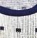 Kotimainen sini-valkoinen neule 70-luvulta, S-M