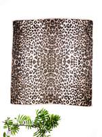 Leopardikuvioinen neliöhuivi