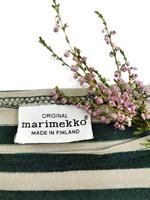 Kotimainen Marimekko Ilma -paita, musta-beige, M