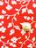 90-luvun punainen viskoosipusero ankkurinapeilla, M-L