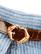 70-luvun kapea kiiltävän ruskea vyö kullanvärisellä soljella