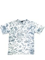 Sininen t-paita batiikkikuosilla, 2000-luvun alku, S-M