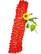 Käsin neulottu punainen chenillehuivi, 2000-luku