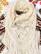 80-luvun iso valkoinen pitsivillahuivi