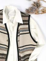 90-luvun valkoinen vintage kauluspaita, L-XL