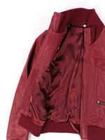 Viininpunainen nahkatakki, 2000-luvun alku, M