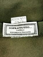 Italialainen vihreä villahattu