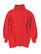 80-90-luvun väljä punainen collegepoolo, XS-S