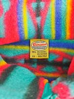 80-90-luvun värikäs fleecekauluri
