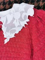 Kotimainen puhvihihainen kimaltava neule, S-M