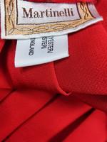 Kiiltävä punainen retro vekkihame, 38-40