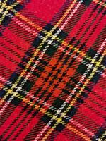 Vintage käsityönä valmistettu skottivekkihame, 38-40