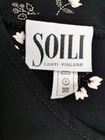Kotimainen Soili -kukkamekko viskoosia, XL