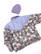 Laventelinvioletti ysäri toppatakki, L
