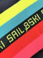 Kotimainen Sail&Ski neonvärinen neule, M-XL