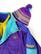 Kotimainen violetti Future tupsupipo