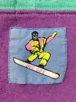 80-luvun BeeGee lumilautailu-huppari, M-L