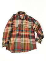 90-luvun flanellipaita paitatakiksi, L-XL