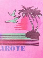 90-luvun Lanzarote matkamuisto T-paita, M-L
