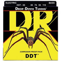 DR STRINGS DROP-DOWN TUNING DDT-55 (55-115) (uusi)
