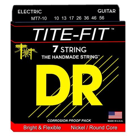 DR Strings Tite-Fit MT7-10 (10-56) 7-kielisen sähkökitaran kielisetti