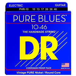 DR STRINGS PURE BLUES PHR-10 (10-46) SÄHKÖKITARAN KIELISETTI