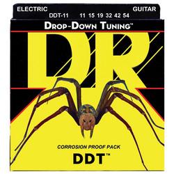 DR STRINGS DROP-DOWN TUNING DDT-11 (11-54) SÄHKÖKITARAN KIELISETTI (uusi)