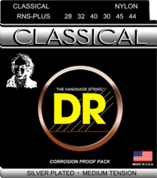 DR STRINGS NYLON CLASSICAL RNS PLUS (28-44) KLASSISEN KITARAN KIELISETTI (uusi)