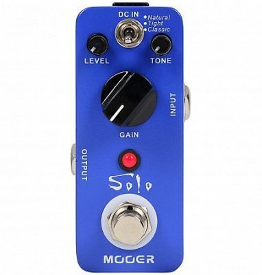 MOOER SOLO DISTORTION (uusi)