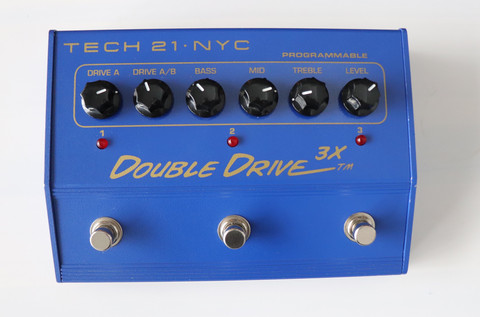 Tech 21 Double Drive 3X (used)