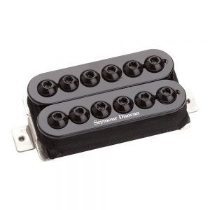 SEYMOUR DUNCAN INVADER BRIDGE BLACK SH-8B (uusi)